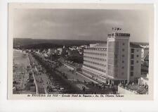 Figueira Da Foz Grande Hotel & Av Dr Oliveria Salazar Portugal RP Postcard 101b