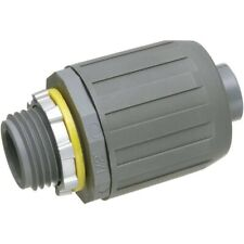 NMLT5-25 SNAP2IT Straight Connector for Liquid-Tight Conduit, Push-On pool spa
