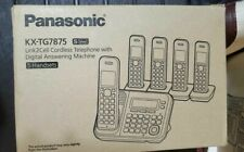 Panasonic KX-TG7875S DECT .0 5-Handset Cordless Telephone