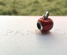 Authentic Pandora Charm, Disney Snow White Apple With Original Bag