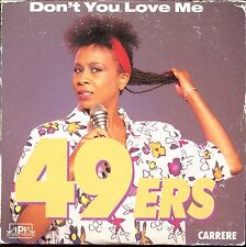 49 ERS - DON'T YOU LOVE ME - FRENCH CARRERE CARDBOARD SLEEVE CD MAXI