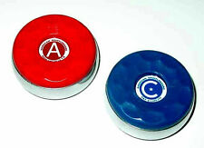 American Shuffleboard Table Pucks - Deluxe Weight Set of 8