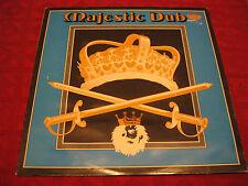 LP Reggae Dub JOE GIBBS & THE PROFESSIONALS Majestic Dub UK 1979