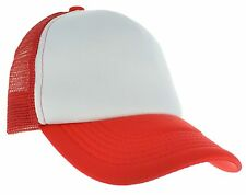 Summer Trucker Mesh Foam Baseball Cap Adjustable Snap back Hat