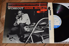 Hank Mobley Workout NM! NY Mono Ear Blue Note lp Grant Green Paul Chambers