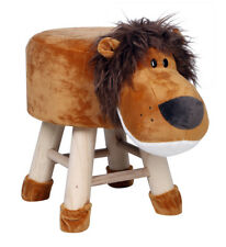Kids Lion Face Stool