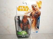 "Brand New Disney Hasbro Star Wars Force Link 2.0 CHEWBACCA 3.75"" E1185 4+"
