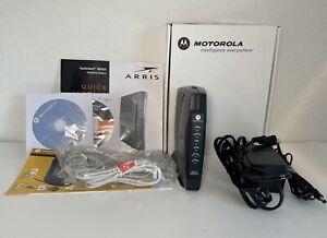 Motorola Arris SURFboard MODEM Model SB5120 Original Box Installation CD &Cables
