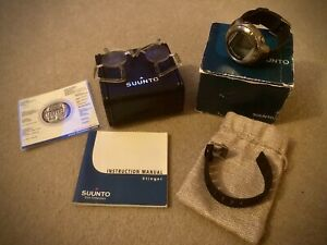 SUUNTO STINGER COMPUTER WATCH + New Battery & Serviced VGC +Accessories