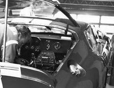Vintage 8 X 10 Cobra Daytona Coupe in Garage at 1965 Daytona Continental
