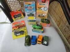 Rola-matics Matchbox Lesney and more...... 1:64 scale lot of 11 vtg