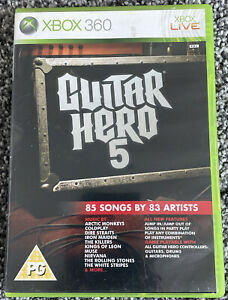 Xbox 360 Game - Guitar Hero 5 - Complete with Manual - PAL VGC Free UK PP