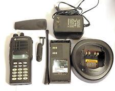 Motorola HT1250 UHF 403-470Mhz 128CH AAH25RDH9AA6AN MINT Tested Kit