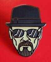 Breaking Bad Pin Heisenberg Walter White Enamel Metal Brooch Badge Lapel