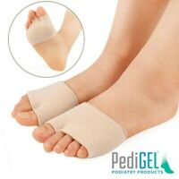 Pair of Metatarsal Gel Cushion Ball of Foot Pad> Pain Relief Morton Neuroma UK