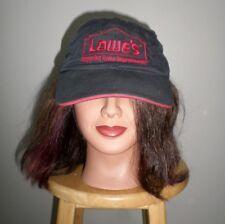 LOWE'S logo baseball hat Improving Home Improvement retail cap Hardware Chain