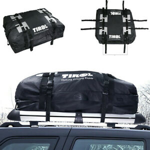 15Cubic Car SUV Roof Top Cargo Luggage Carrier Travel Storage Bag PVC Waterproof