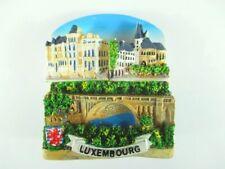 Luxemburg Luxembourg großer 3 D Magnet,Polyresin Souvenir,Neu
