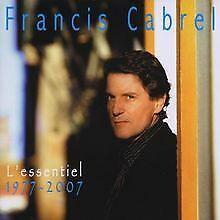 L'essentiel/1977-2007 de Cabrel,Francis | CD | état bon