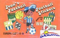 1978 Panini Argentina World Cup Soccer Jeans Fussball 100 Pk Sealed Sticker BOX