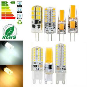 G4 G9 LED 3W 5W 1505 0705 SMD Globe Capsule Bulb COB Dimmable Lights 12V 220V