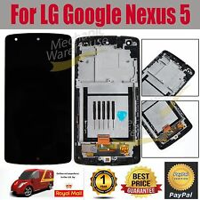 For LG Google Nexus 5 D820 D821 LCD Touch Screen Display Digitizer Black & Frame