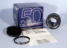 Carl Zeiss Planar T* 50mm f/1.7 Prime Lens * Contax C/Y * Boxed & Excellent