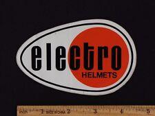 ELECTRO HELMETS STICKER Decal Vintage Motocross Enduro Honda Husqvarna Maico KTM