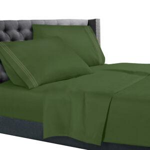 All Unique Sizes Brushed Soft Microfiber Hotel Bed Sheets, Deep Pocket Sheet Set