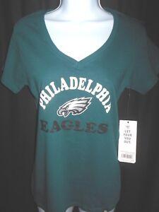 Philadelphia Eagles Women's NFL '47 Brand V Neck Shirt