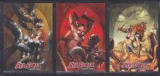 Breygent - Red Sonja 2012 - Red Sonja vs Thulsa Doom Insert Set RS-T1 - RS-T3