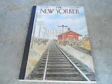 OCT 11 1952 NEW YORKER magazine WELCOME PRESIDENT - RAILROAD