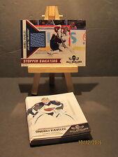 2010-11 Panini All Goalies Stopper Sweaters Blue #13 Ondrej Pavelec + 15 Base