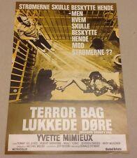 """Jackson County Jail"" Yvette Mimieux Jones 1976 Danish Movie Press Release Kit"