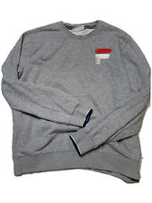 Vintage FILA Men's Sweatshirt Gray Size XL