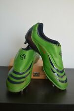 Adidas F50 Tunit Football Boots Size 10 SG green navy