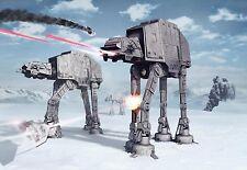 8-481 - Disney Multicoloured Star Wars Battle of Hoth Komar Wallpaper