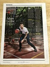 Adam Levine - 2010 Magazine Clipping