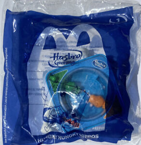 Hasbro Hungry Hungry Hippos Travel Size Game McDonald's Toy Sealed