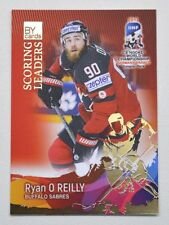 2017 BY cards IIHF WC Scoring Leaders #13 Ryan O'Reilly #/20