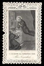 santino merlettato-holycard-canivet S.GIUSEPPE DA COPERTINO