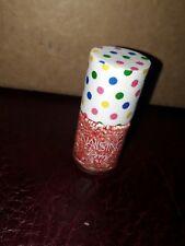 "Brand New nailsinc ""Upper Berkeley Street"" 10ml - Pink Dotty Top Coat"