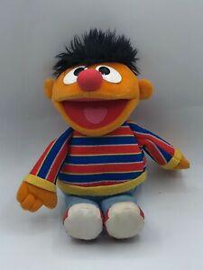 Official 2002 Gund Sesame Street Bert & Ernie Muppets Plush Kids Stuffed Toy
