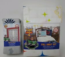 Disney Toy Story Full Sheet Set with Glow in the Dark Curtains