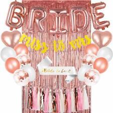 Bachelorette Party Decorations Kit Bridal Shower Supplies Heart Foil Balloons