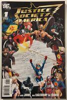 Justice Society of America #1 - 1st App. New Starman DC Comics 2007 / Alex Ross