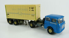 "Skoda Container-Sattelzug ""Kühl-Container"" Permot 1:87 H0 ohne OVP [HB3-B2]"