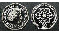 2010 Girl Guides 50p Fifty Pence Coin - Royal Mint BUNC