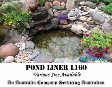 Fish Pond Liner 4mX3m L160 Reinforced HDPE Heavy Duty 20 Yr Guaranty Landscaping