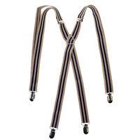 Uomo Donna Unisex Regolabile Slim Bretelle Pantaloni Elastico Bretelle Con Clip